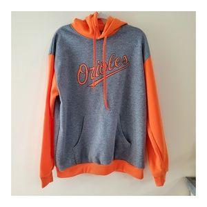Baltimore Orioles Orange/Gray Hoodie Size XL